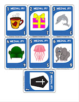 Year Long Articulation Therapy Bundle Card Game Example