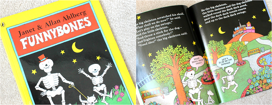 Kids Halloween Books, funny bones