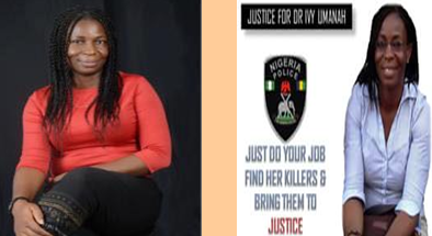 Friends of Dr Ivy Umunah Share The Unfortunate Way The 44yrs Old Medical Doct0r Was Murdered