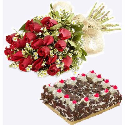 cvijeće za rođendan slike Slike i Čestitke za Rođendan: Buket cvijeća i torta kao dar za  cvijeće za rođendan slike