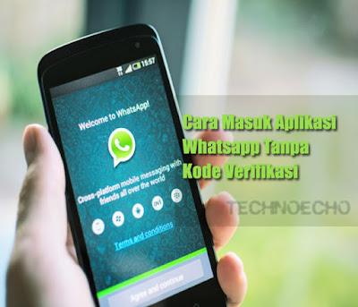masuk whatsapp tanpa kode verifikasi