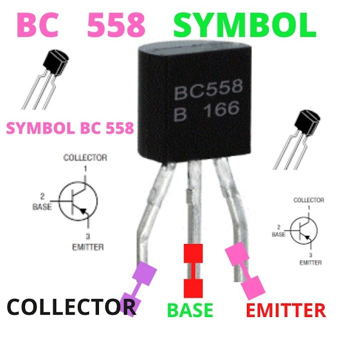 BC558 TRANSISTOR PINOUT AND ITS USE