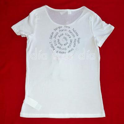 Camiseta personalizada maestra