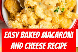 Easy Baked Macaroni and Cheese #macandcheese #macaroni #cheese