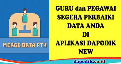 Perlakuan Sistem Untuk Menggabungkan Data PTK Ganda Agar Menjadi Satu
