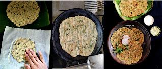 Spiced millet flatbread