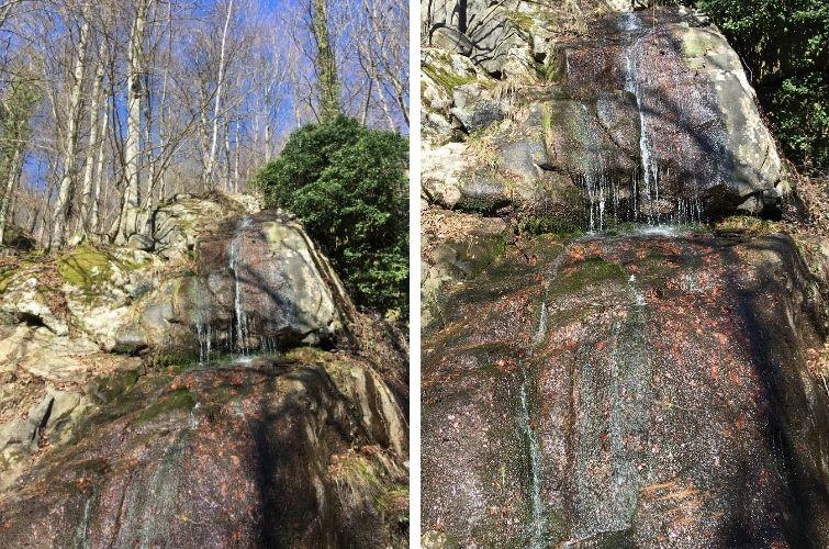 Fallende Wasser am Rodenstein