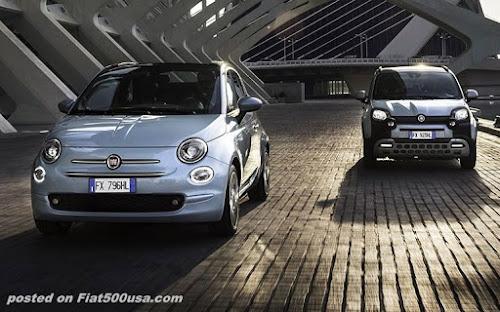 Fiat 500 and Panda Hybrid