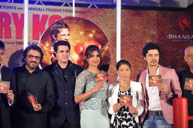Mary Kom music launch event