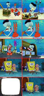 Polosan meme spongebob dan patrick 121 - seniman squidward