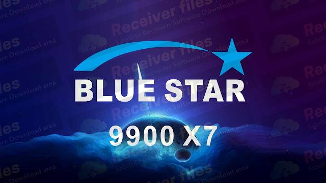 BLUESTAR 9900 X7 1506TV 8MB SEB3 BUILT IN WIFI NEW SOFTWARE