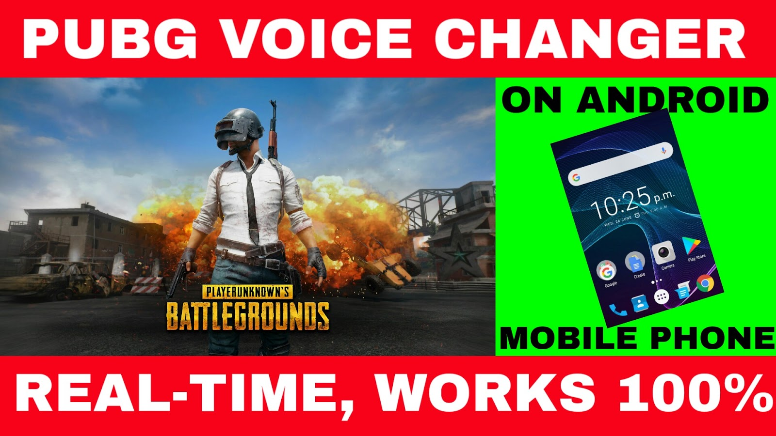 HOW TO CHANGE VOICE IN PUBG MOBILE VOICE CHANGER APP FOR ANDROID