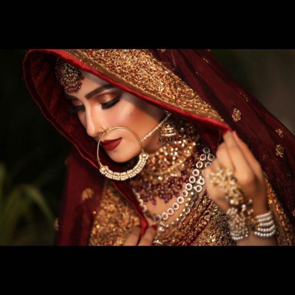 Ayeza Khan Bridal Photoshoot for Zara Salon