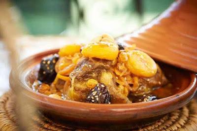 طريقة عمل الطاجين المغربي باللحم والخضار