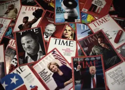 Time Magazine sold 3 covers as an NFT