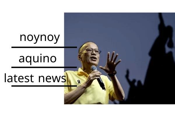 noynoy aquino latest news