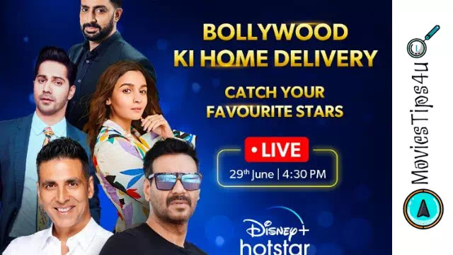 Catch Your Favourite Stars Live On Disney+Hotstar