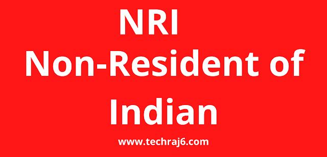 NRI full form, What is the full form of NRI