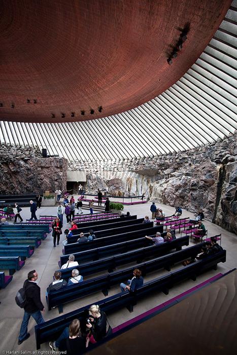 Igreja na rocha, Helsinque