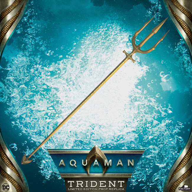 Collecting Toyz Aquaman Movie Hero Trident Limited Edition Prop