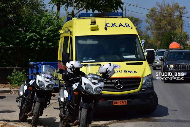 Σύγκρουση τριών οχημάτων στο Ναύπλιο