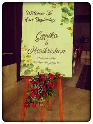 wedding board kerala