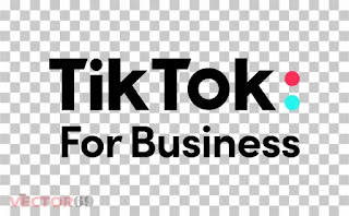 Logo TikTok For Business - Download Vector File PNG (Portable Network Graphics)