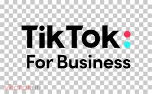 Logo TikTok For Business (.PNG)