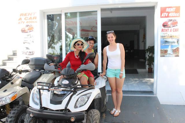 Fira scooter rental, Santorini