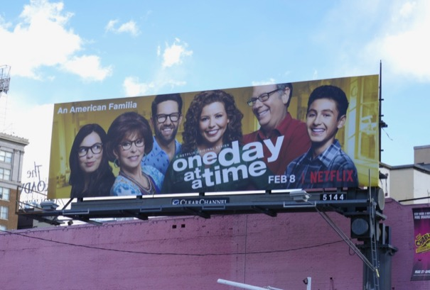 One Day At A Time season 3 billboard
