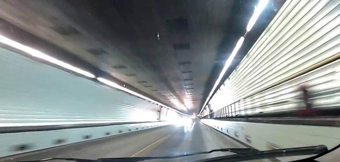 Rigen restricciones a la circulacion en el túnel subfuvial