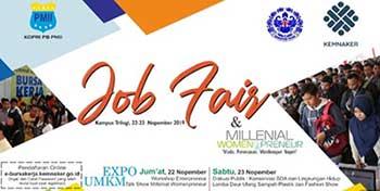 Universitas Trilogi Job Fair November 2019