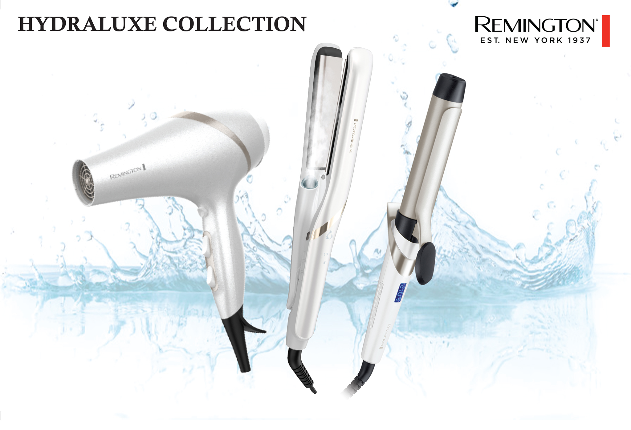 Remington Hydraluxe collection