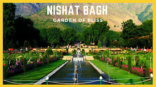 Places to visit in Jammu and kashmir (Nishat bagh )