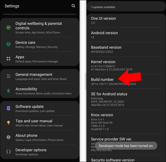 طريقة تفعيل الوضع الليلي في الفيسبوك على الكمبيوتر أو الهاتف Android-10-force-dark-mode-2