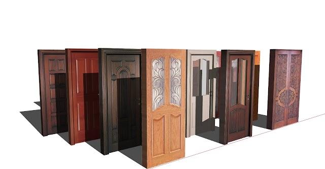 Doors 3d Sketchup file