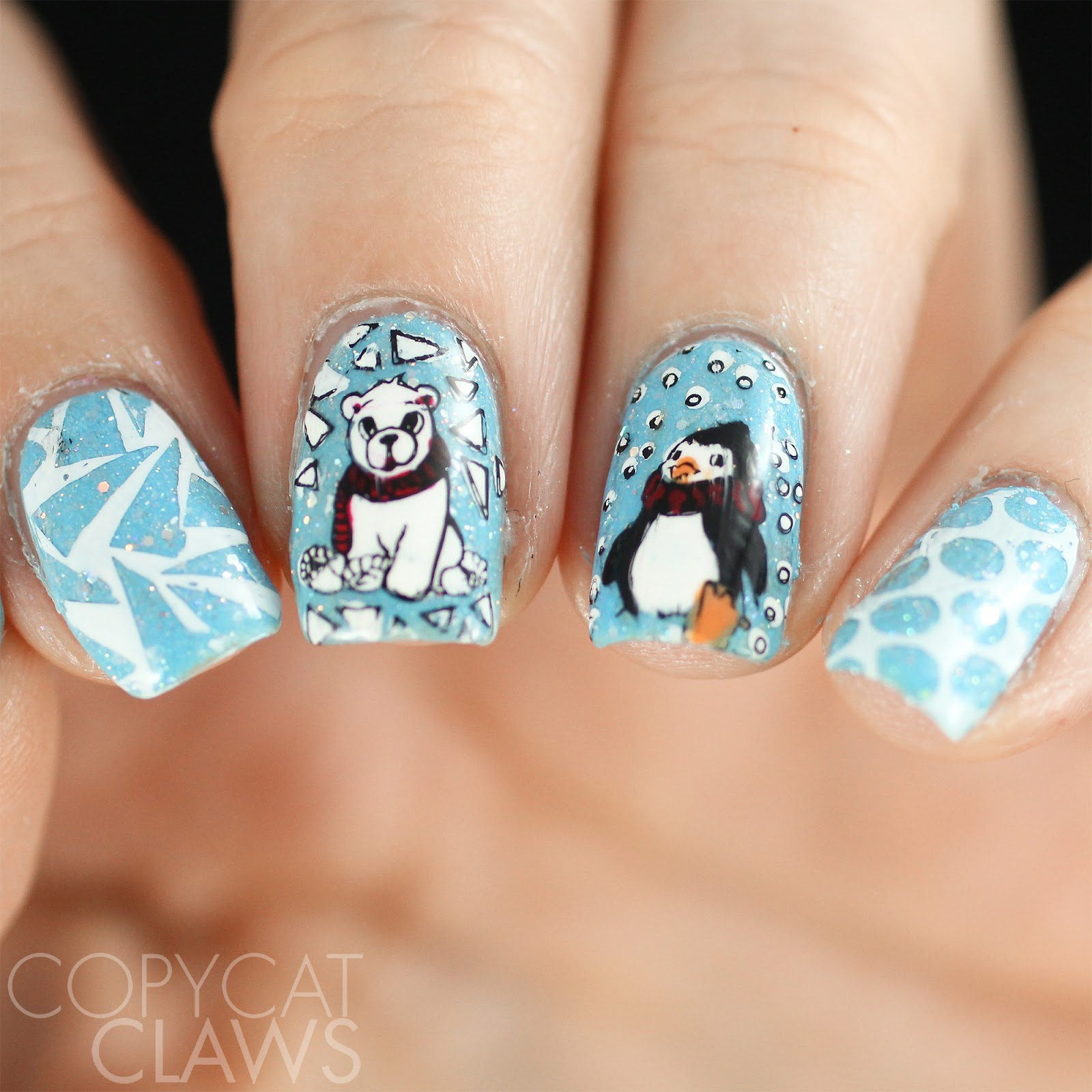 Copycat Claws: The Nail Challenge Collaborative - Winter