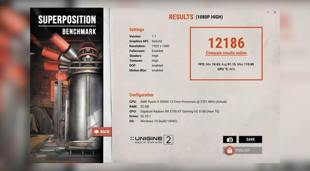 AMD RYZEN 9 5900X TEST Benchmark