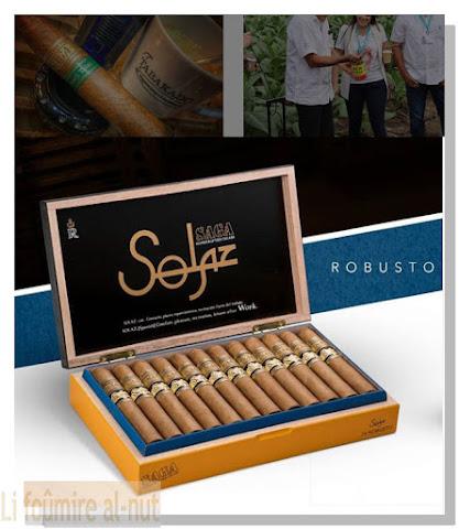 Saga Solaz  Gordo & Robusto