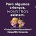 CAMPANHA DE COMBATE AO ABUSO INFANTIL É LANÇADA PELA ASSEMBLEIA LEGISLATIVA