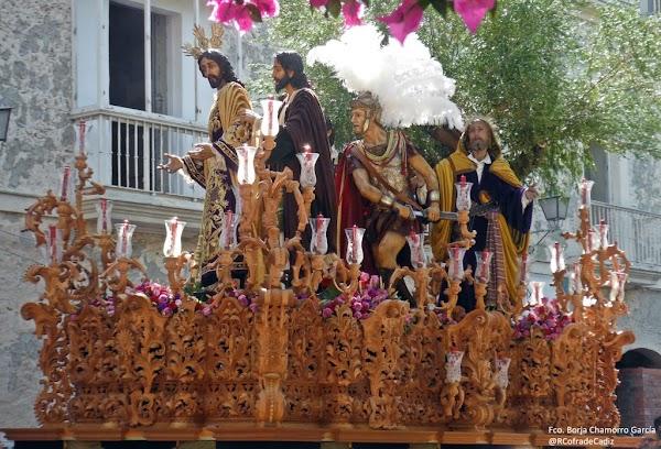Así es la disposición del Lunes Santo para la Semana Santa de Cádiz 2020