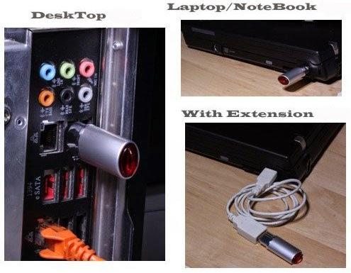 IrDA USB 2.0 Network Adapter (New)