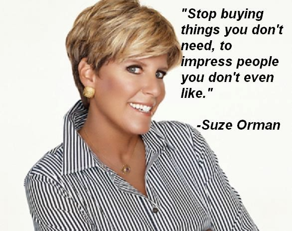 how to save suze orman