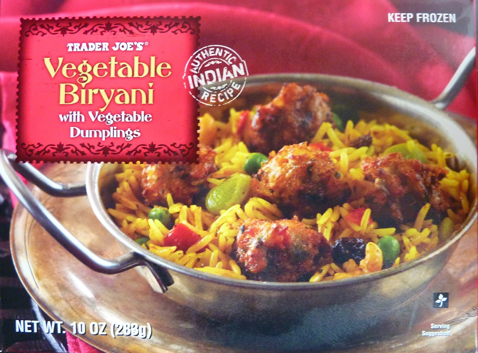 What S Good At Trader Joe S Trader Joe S Vegetable Biryani