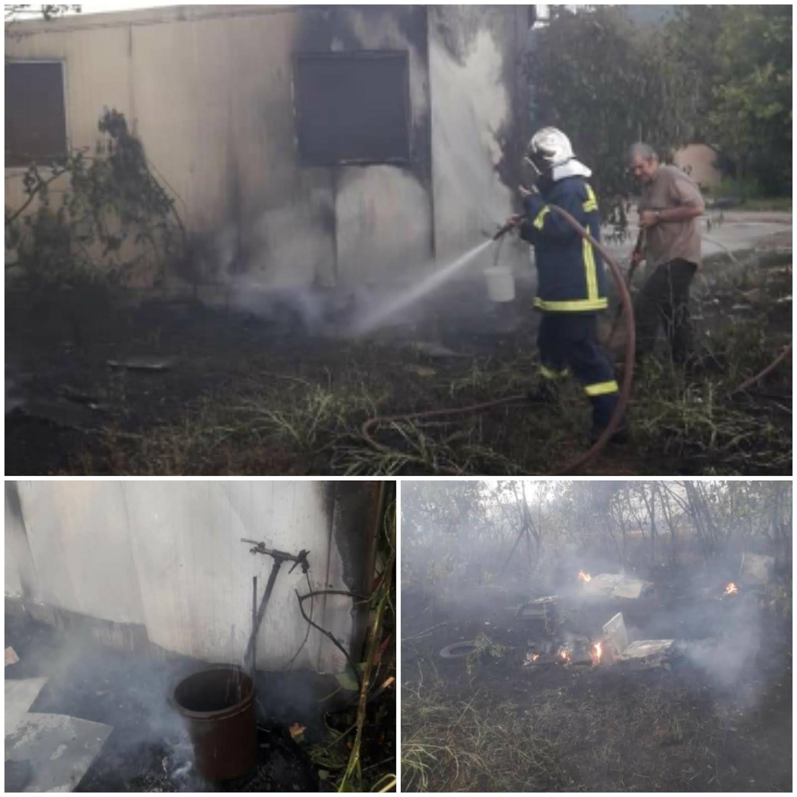 Ξάνθη: Τεράστια καταστροφή στο φυτώριο από την πυρκαγιά - ΒΙΝΤΕΟ