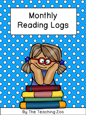 https://www.teacherspayteachers.com/Product/Monthly-Reading-Logs-1927716