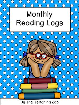 https://www.teacherspayteachers.com/Product/Monthly-Reading-Logs-1927716