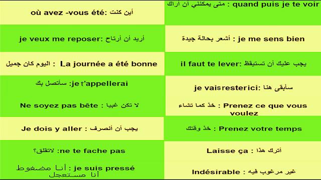 تعلم الفرنسية بسرعة لا توصف للمبتدئين أكثر الجمل إستعمالا 51 Apprendre le français (débutants)