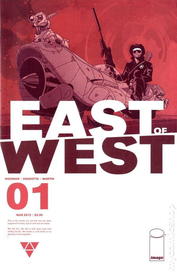 East of West - Jonathan Hickman, Nick Dragotta