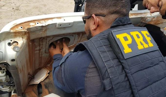 PRF, com apoio da PM-PE, apreende 29 kg de cocaína na região de Juazeiro; veja vídeo